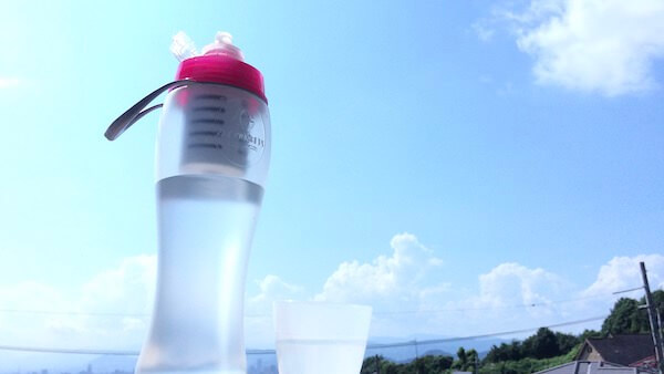 ガイアの水135水筒型浄水器