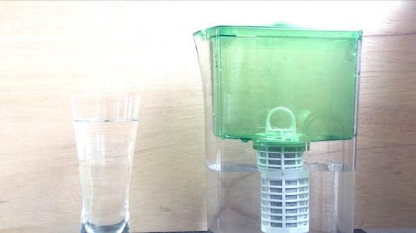 [動画で紹介]新しいカートリッジ使用前の準備☆ポット型浄水器